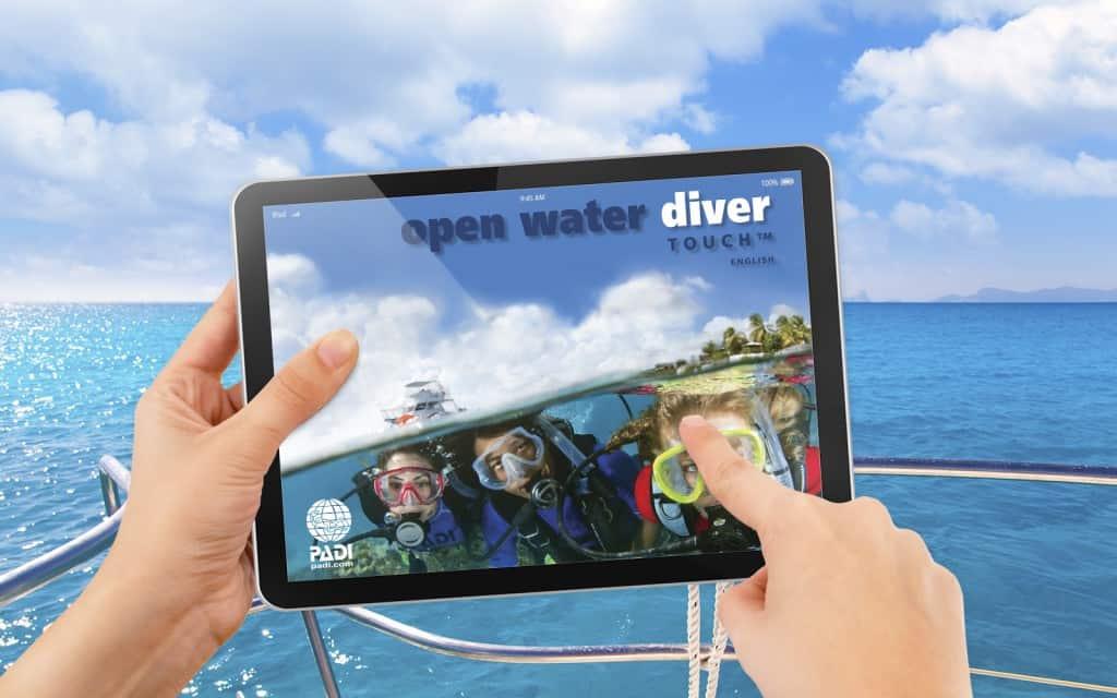 open water padi elearning